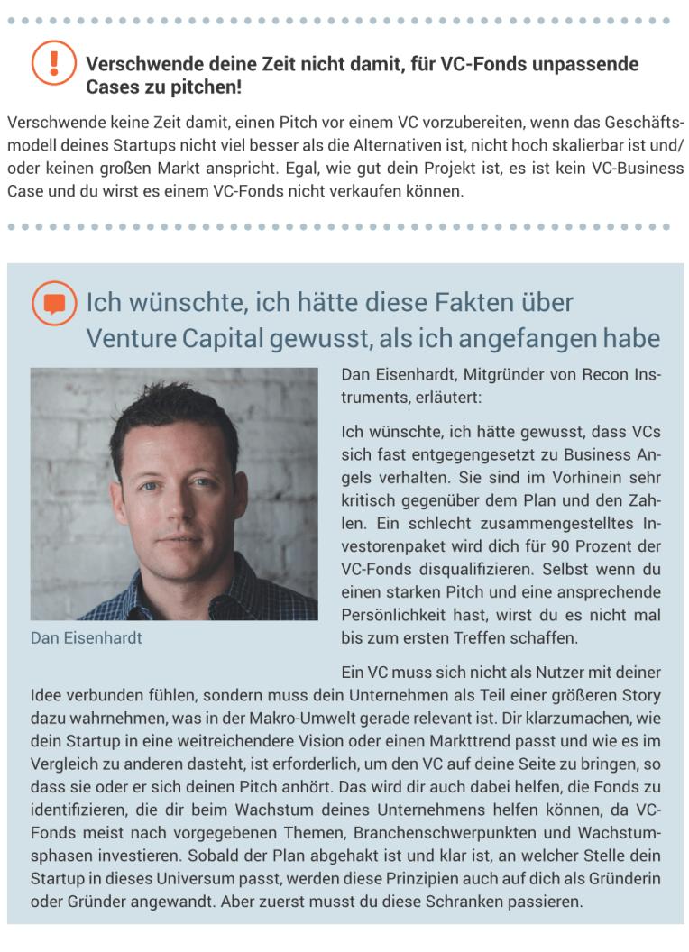 Startup Finanzierung - Inhalte - VC-Fonds