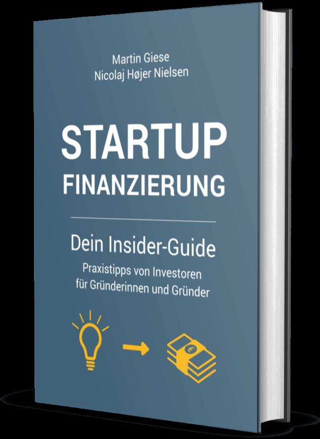 Startup Finanzierung - Buch-Cover