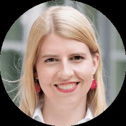 Maria Sievert, Gründerin und Geschäftsführerin, inveox