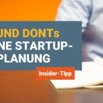 Do und Don't für Excel-Finanzplanung bei Startups