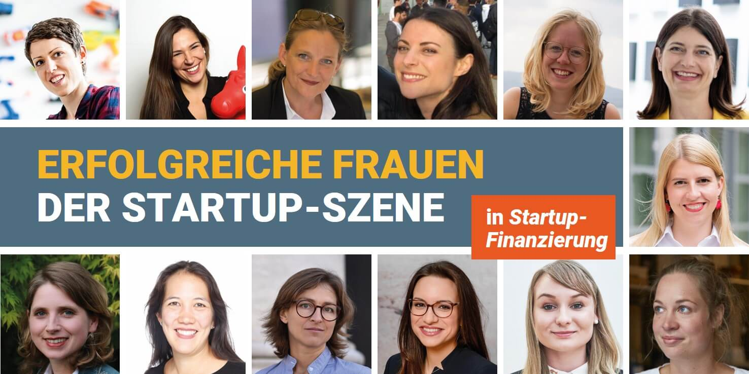 Erfolgreiche Frauen der Startup-Szene in Startup-Finanzierung