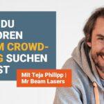 Warum du Investoren VOR dem Crowdfunding suchen solltest (Teja Philipp)